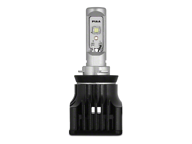 PIAA High Output White LED High Beam Bulb - 9005 (15-18 w/ Halogen Headlights)