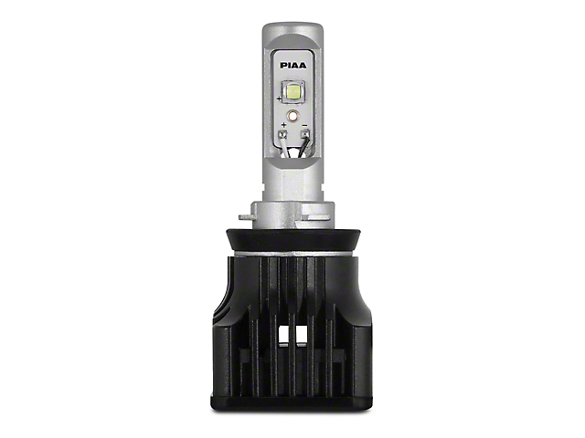 PIAA High Output White LED Low Beam Light Bulb - H11 (15-18 w/ Halogen Headlights)