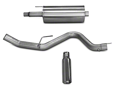 dB Performance by Corsa 3.0 in. Cat-Back Exhaust System - Single Side Exit (15-17 5.0L)