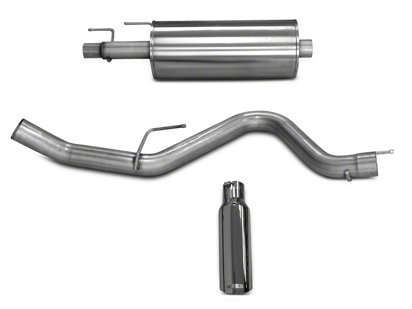 dB Performance by Corsa 3.0 in. Single Exhaust System - Side Exit (15-18 2.7L EcoBoost F-150)