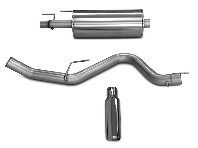 dB Performance by Corsa 3.0 in. Cat-Back Exhaust System - Single Side Exit (15-18 3.5L EcoBoost, Excluding Raptor)