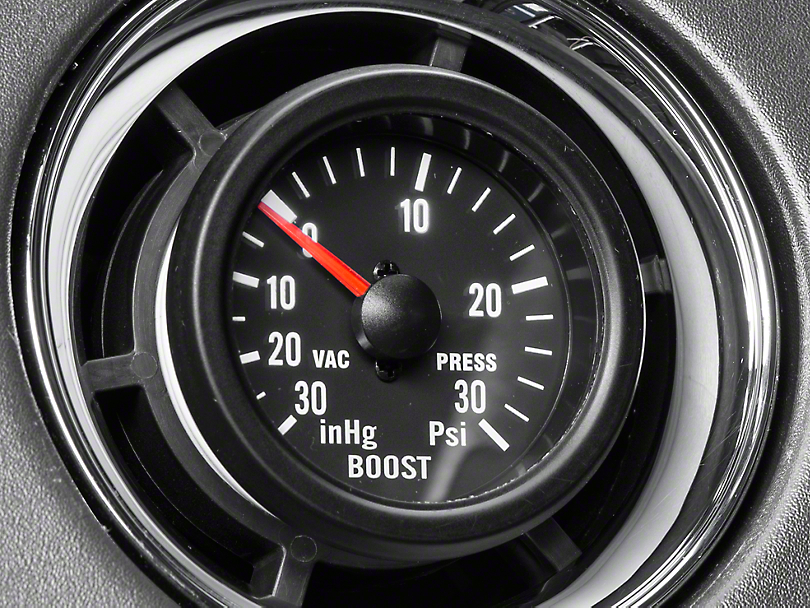 Prosport Boost/Vac Gauge - 30psi Mechanical (97-17 All)