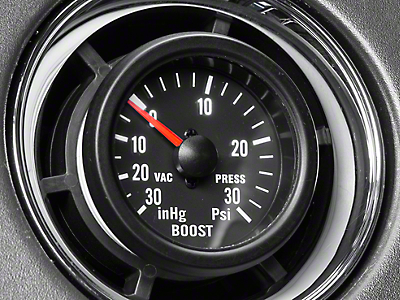 Prosport 30 PSI Boost/Vac Gauge - Mechanical (97-18 All)