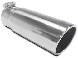 MBRP 3.5 in. Polished Angled Rolled Edge Exhaust Tip - 3 in. Connection (97-19 F-150)