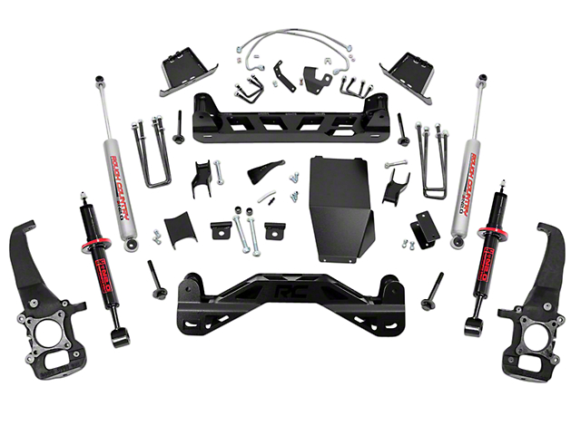 Rough Country 6-Inch Suspension Lift Kit with Lifted Struts (04-08 4WD F-150)