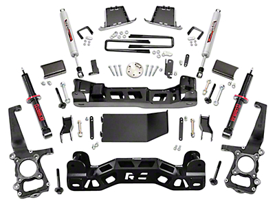 Rough Country 6 in. Suspension Lift Kit w/ Lifted Struts (09-14 4WD, Excluding Raptor)
