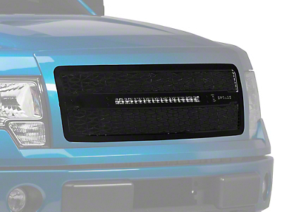 T-REX ZROADZ Series Upper Grille w/ 20 in. Slim LED Light Bar (09-14 All, Excluding Raptor)