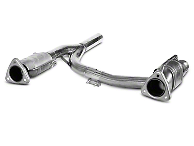 Dynatech SuperMAXX Catted Mid-Pipe (04-08 2WD/4WD 5.4L w/ Long Tube Headers)