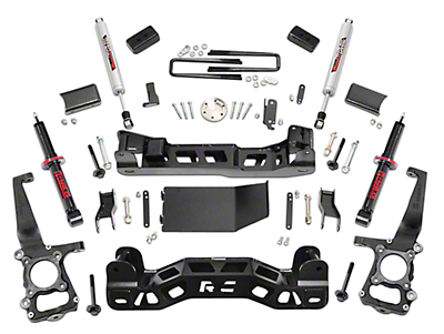 Rough Country 4 in. Suspension Lift Kit w/ Lifted Struts (09-13 4WD F-150, Excluding Raptor)