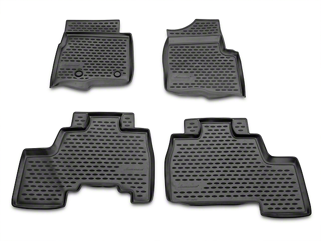 Westin Profile Front & Rear Floor Liners - Black (09-14 F-150 SuperCab, SuperCrew)