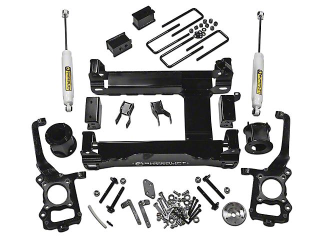 SuperLift 4.50-Inch Suspension Lift Kit with Shocks (15-20 4WD F-150 SuperCab, SuperCrew, Excluding Raptor)