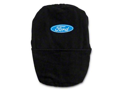 Alterum Ford Oval Logo Center Console Cover (11-19 F-150 w/ Bench Seat)
