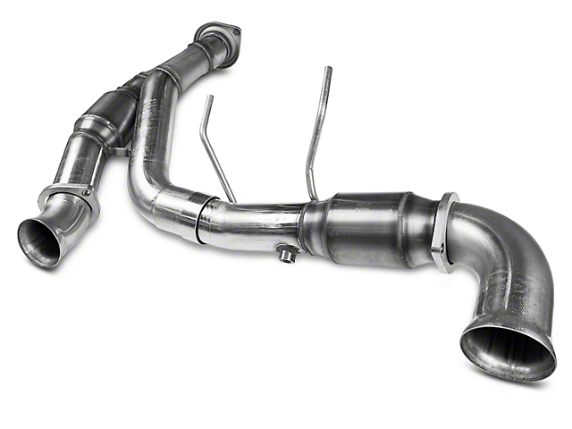 Kooks 3 in. Green Catted Y-Pipe (11-14 5.0L F-150 w/ Long Tube Headers)