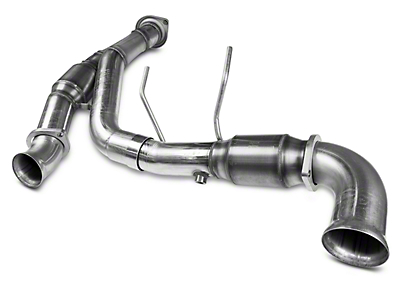 Kooks 3 in. Green Catted Y-Pipe (11-14 5.0L w/ Long Tube Headers)
