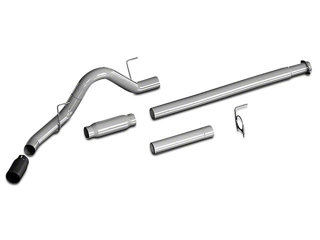 Flowmaster Outlaw Cat-Back Exhaust w/ Black Tip - Single Side Exit (15-17 2.7L EcoBoost)