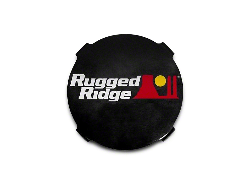 Rugged Ridge 7 in. HID Off-Road Light Covers - Black (97-18 F-150)