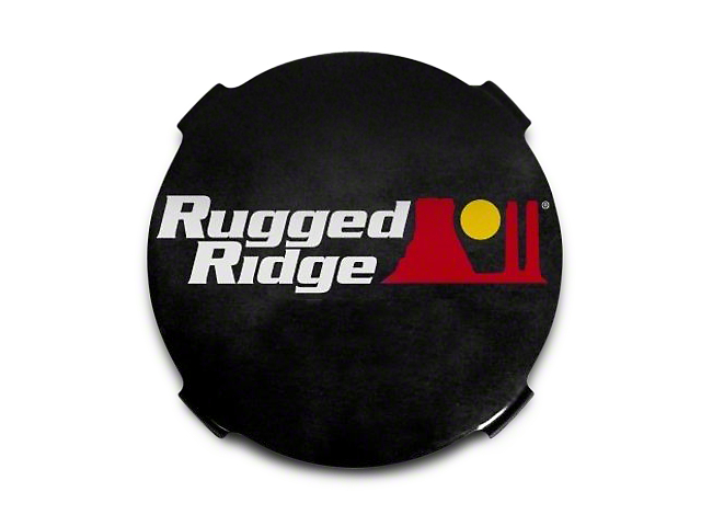 Rugged Ridge 7 in. HID Off-Road Light Covers - Black (97-18 All)