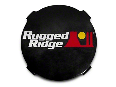 Rugged Ridge 7 in. HID Off-Road Light Covers - Black (97-17 All)