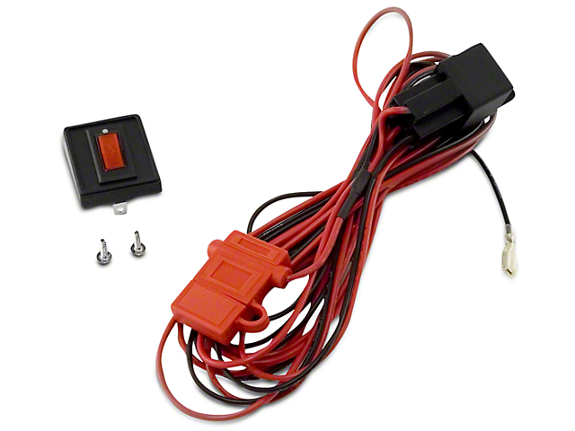 Rugged Ridge Wiring Harness for Two HID Off-Road Fog Lights (97-18 F-150)
