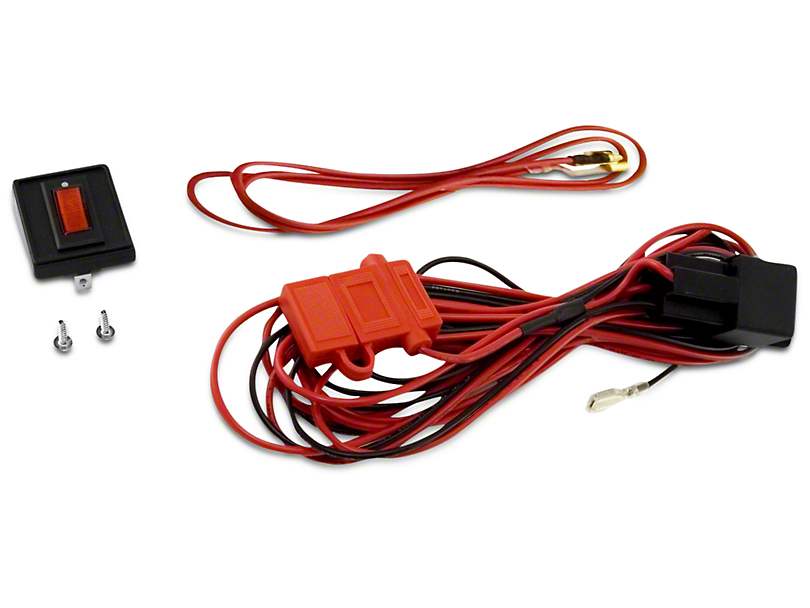 Rugged Ridge Wiring Harness for Three HID Off-Road Fog Lights (97-17 All)