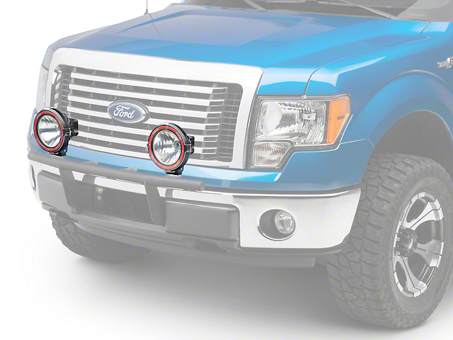 rugged ridge hid off road fog light kit pair of lights best partrugged ridge f 150 7 in round hid off road fog light single