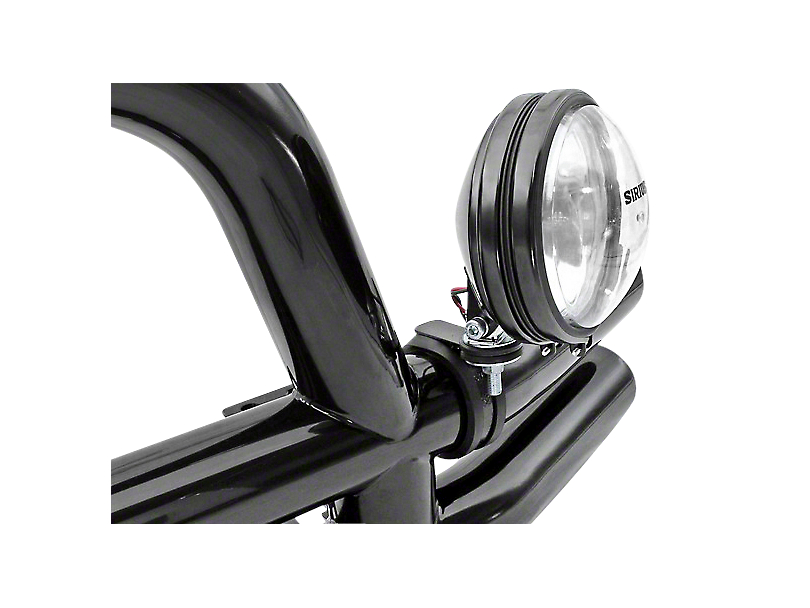Rugged Ridge Off-Road Light Mounting Bracket for 3 in. Tubular Bars (97-18 F-150)
