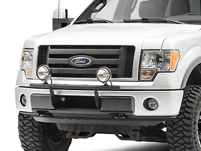 Rugged Ridge 6 in. Round Halogen Fog Lights - Pair (97-18 F-150)