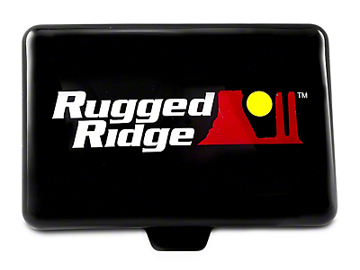 Rugged Ridge 5x7 in. Off-Road Light Cover - Black (97-17 All)