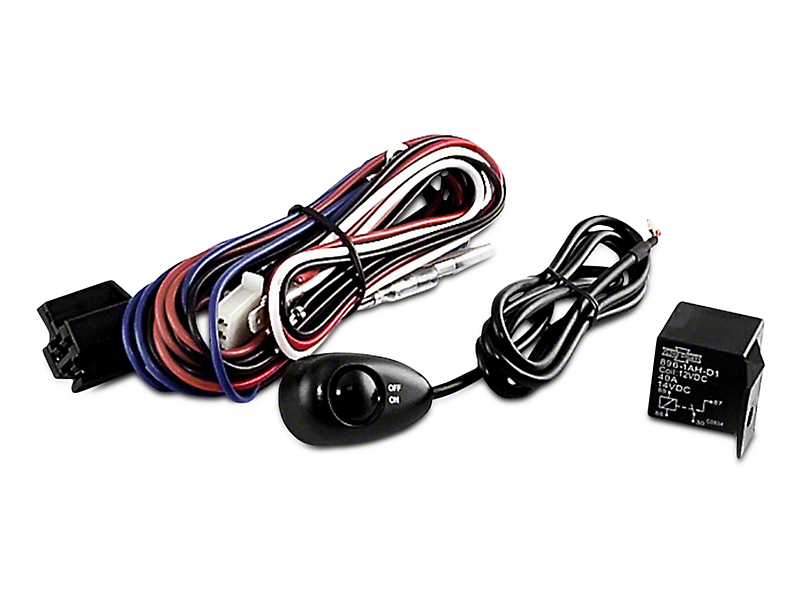 Rugged Ridge Wiring Harness for Three Off-Road Fog Lights (97-18 All)