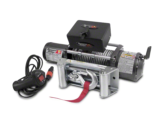 Rugged Ridge Heavy Duty 8,500 lb. Winch (97-18 All)