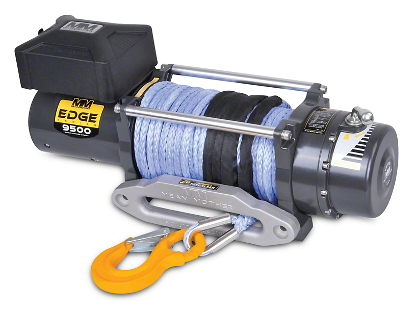 Mean Mother EDGE Series 9,500 lb. Winch w/ Synthetic Rope (97-18 All)