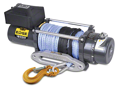 Mean Mother EDGE Series Winch 12,000 lb. w/ Synthetic Rope (97-17 All)