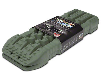 TRED 800 Traction Boards - Military Green (97-17 All)