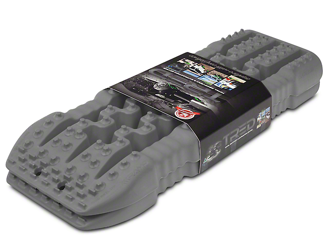 TRED 800 Traction Boards - Gun Metal Grey