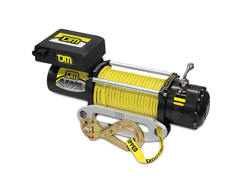 TJM 9,500 lb. Torq Winch w/ Synthetic Rope (97-18 All)