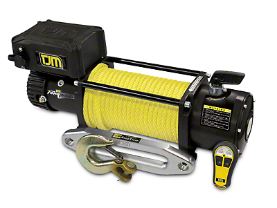 TJM 12,000 lb. Torq Winch w/ Synthetic Rope