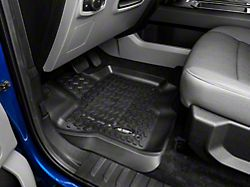Rugged Ridge All-Terrain Front and Rear Floor Mats; Black (15-20 F-150 SuperCab, SuperCrew)