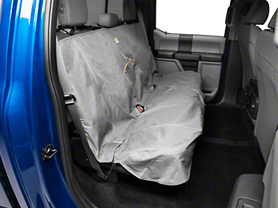 Kurgo Extended Width Wander Rear Bench Seat Cover - 63 in. Wide - Charcoal (97-17 SuperCab, SuperCrew)