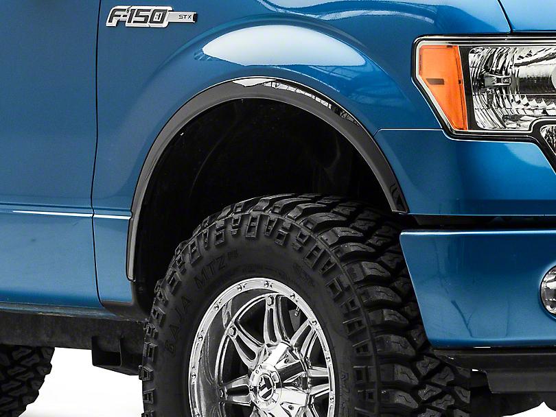 Putco Black Platinum Fender Trim (04-14 F-150 w/o Fender Flares)
