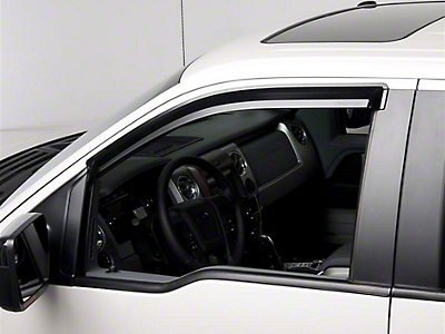 Putco Element Tinted Window Visors - Fronts Only (09-14 SuperCab, SuperCrew)