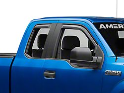 Putco Element Tinted Window Visors - Front & Rear (15-19 F-150 SuperCrew)