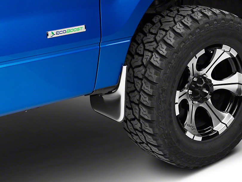 Putco Form Fitted Mud Skins - Front (04-14 F-150 w/ Factory Fender Flares)