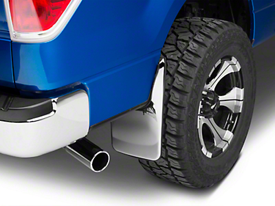 Putco Form Fitted Mud Skins - Rear (04-14 F-150 w/ Factory Fender Flares)