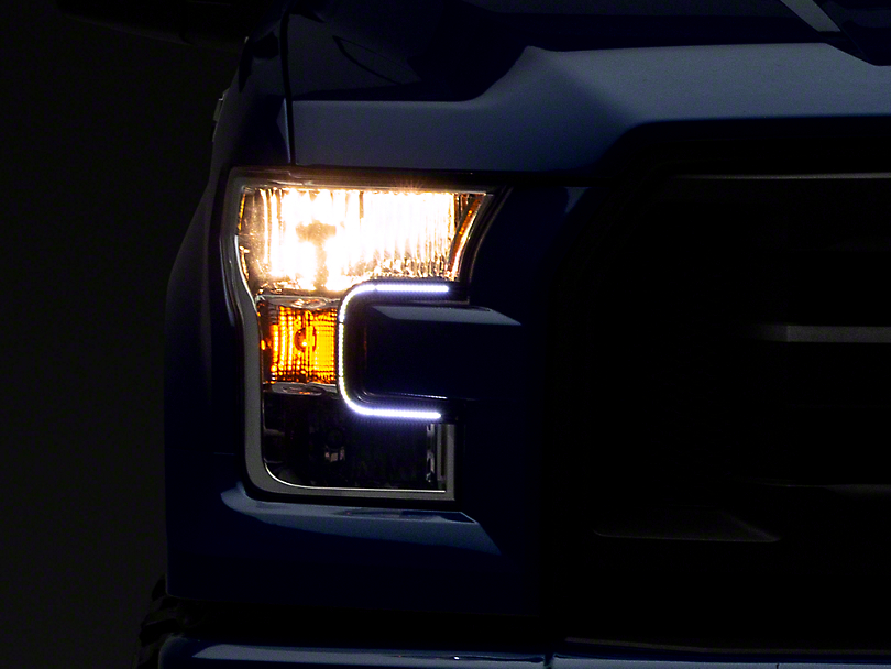 Putco LED Dayliner G3 Kit - Black Trim (15-17 F-150; 2018 F-150 Raptor)