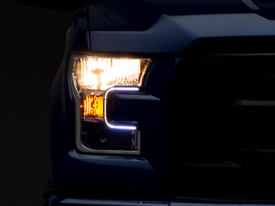 Putco LED Dayliner G3 Kit - Black Trim (15-17 All; 2018 Raptor)