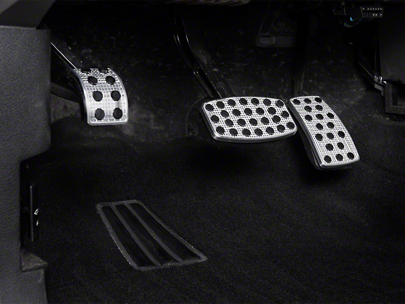 Putco Liquid Pedal Covers - Track Design (04-08 All)