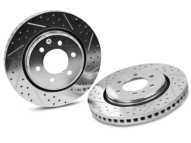 Baer Sport Drilled & Slotted 6-Lug Rotors - Front Pair (10-18 2WD/4WD F-150)