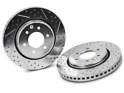 Baer Sport Drilled & Slotted 6-Lug Rotors - Rear Pair (12-19 2WD/4WD F-150)