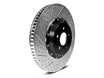 Baer EradiSpeed1 Drilled & Slotted 6-Lug Rotors - Front Pair (10-18 2WD/4WD)