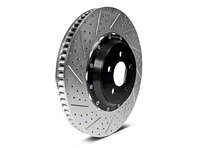 Baer EradiSpeed1 Drilled & Slotted 6-Lug Rotors - Rear Pair (12-14 2WD/4WD F-150; 15-18 F-150 w/ Manual Parking Brake)